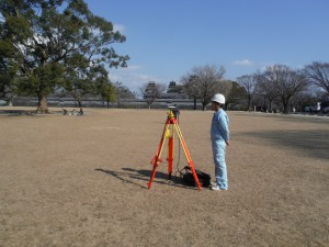 測量1GNSSによるスタテック観測