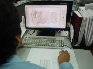 測量6CADによる平面図作成